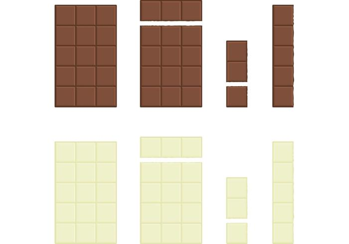 Chocolate Vector Bars