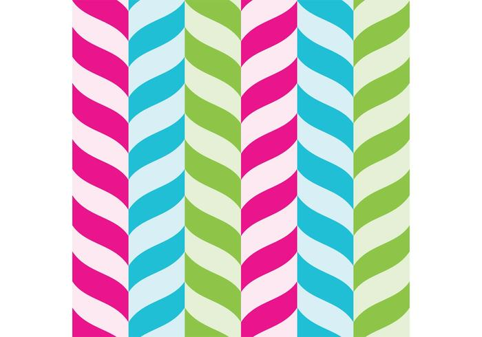 Candy Cane Vector Achtergrond