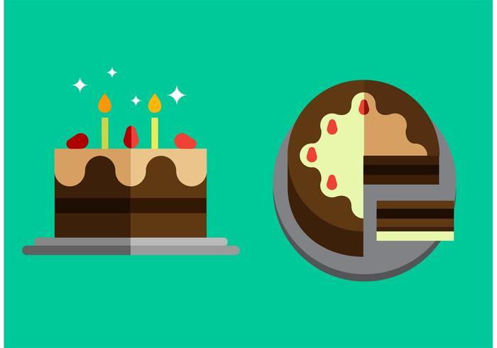 Paquete de Vector de Cake gratis