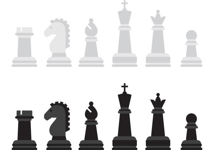 Chess Vector Game Pieces