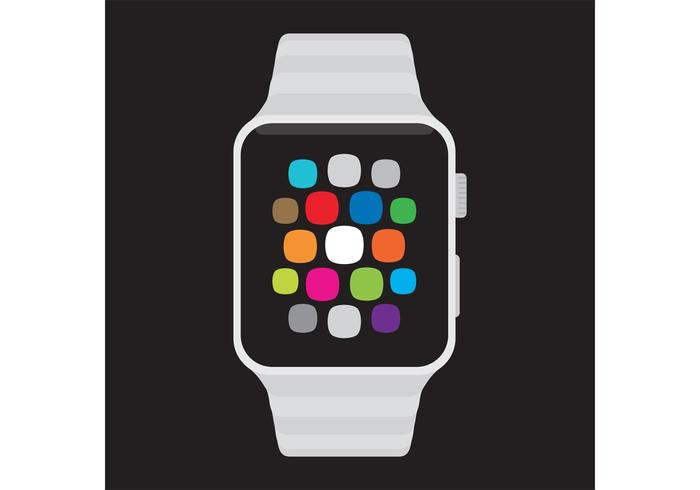 Vecteur Smartwatch