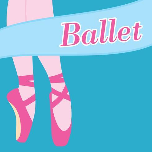 Sfondo vettoriale balletto