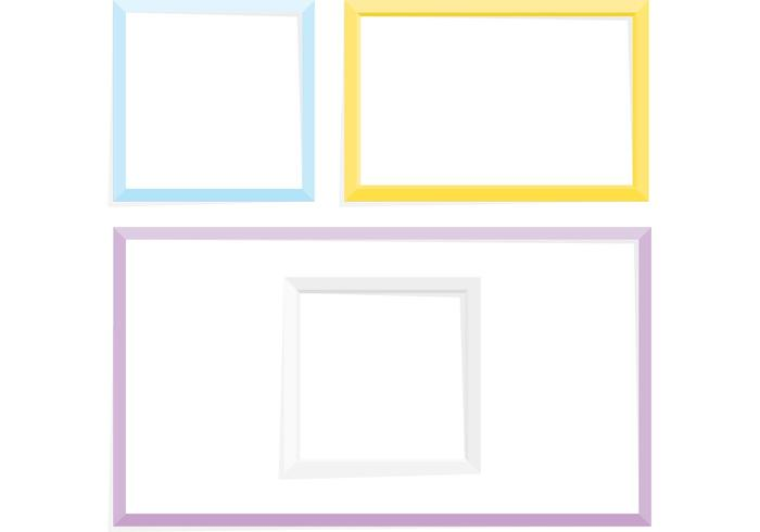 Decorative frames set download free vector art stock graphics - Simple Frame Vector Pack Download Free Vector Art Stock