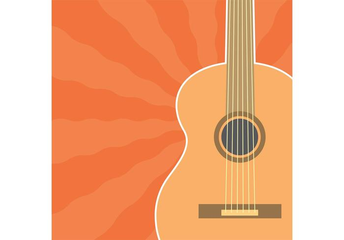 Vector de guitarra