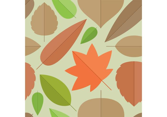 Leaves Vector Background