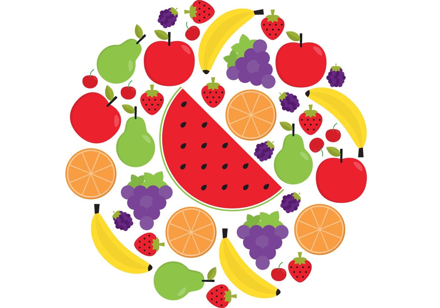 Fruit Vector Pack Download Free Vector Art Stock