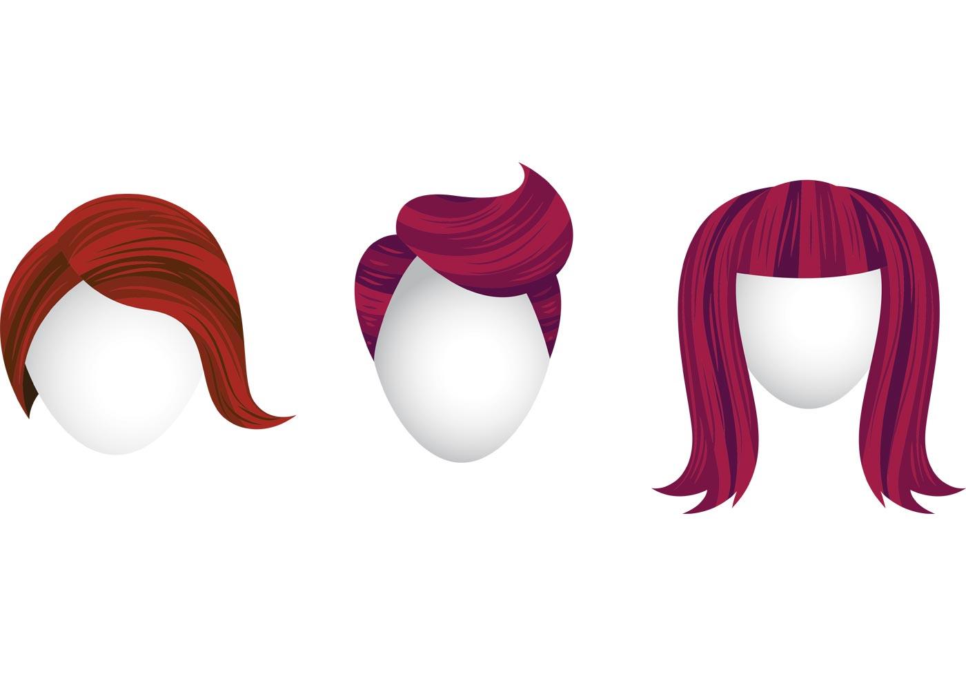 hair vector - photo #16