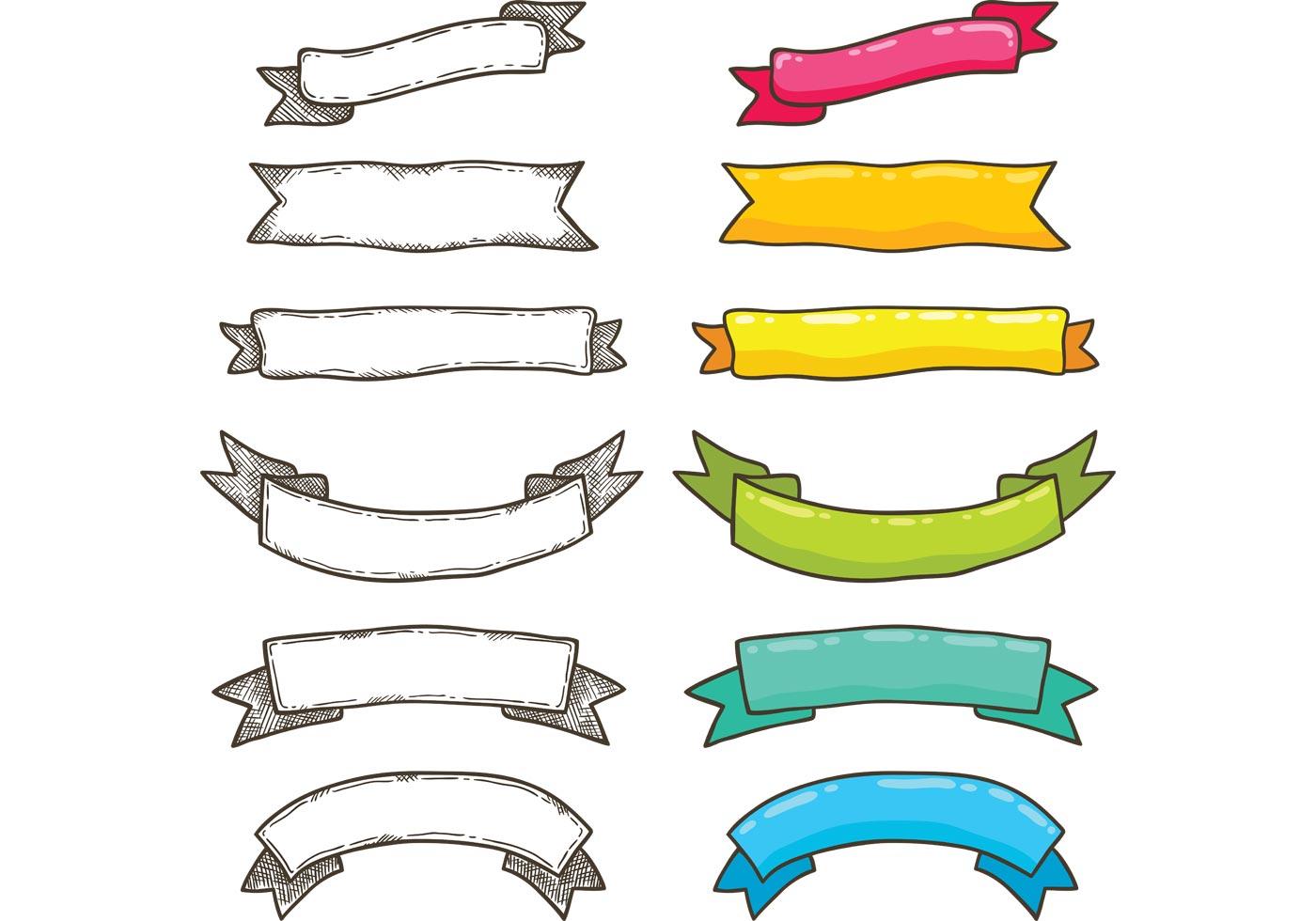 Free Bright Ribbon Vectors - Download Free Vector Art ...
