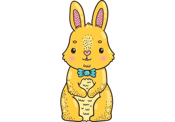 Cute Bunny Free Vector