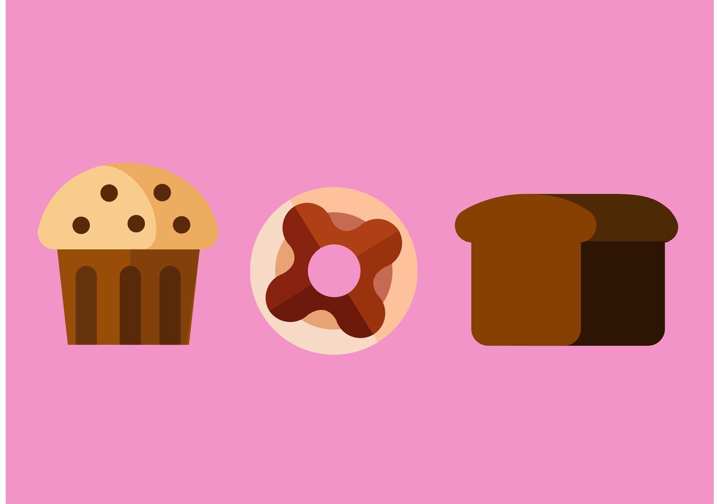 Sweet Food Vectors Download Free Vector Art Stock