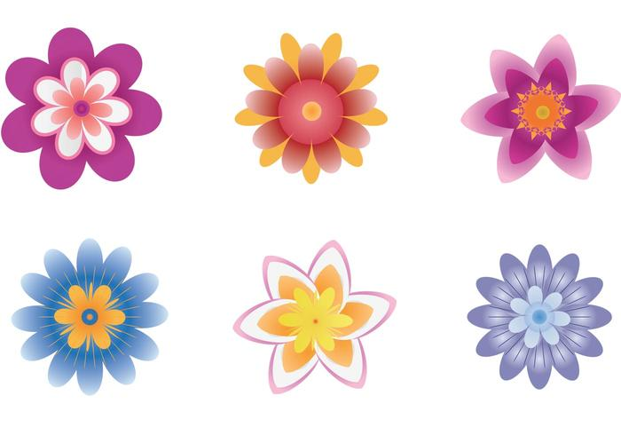 Polynesian Flower Vector