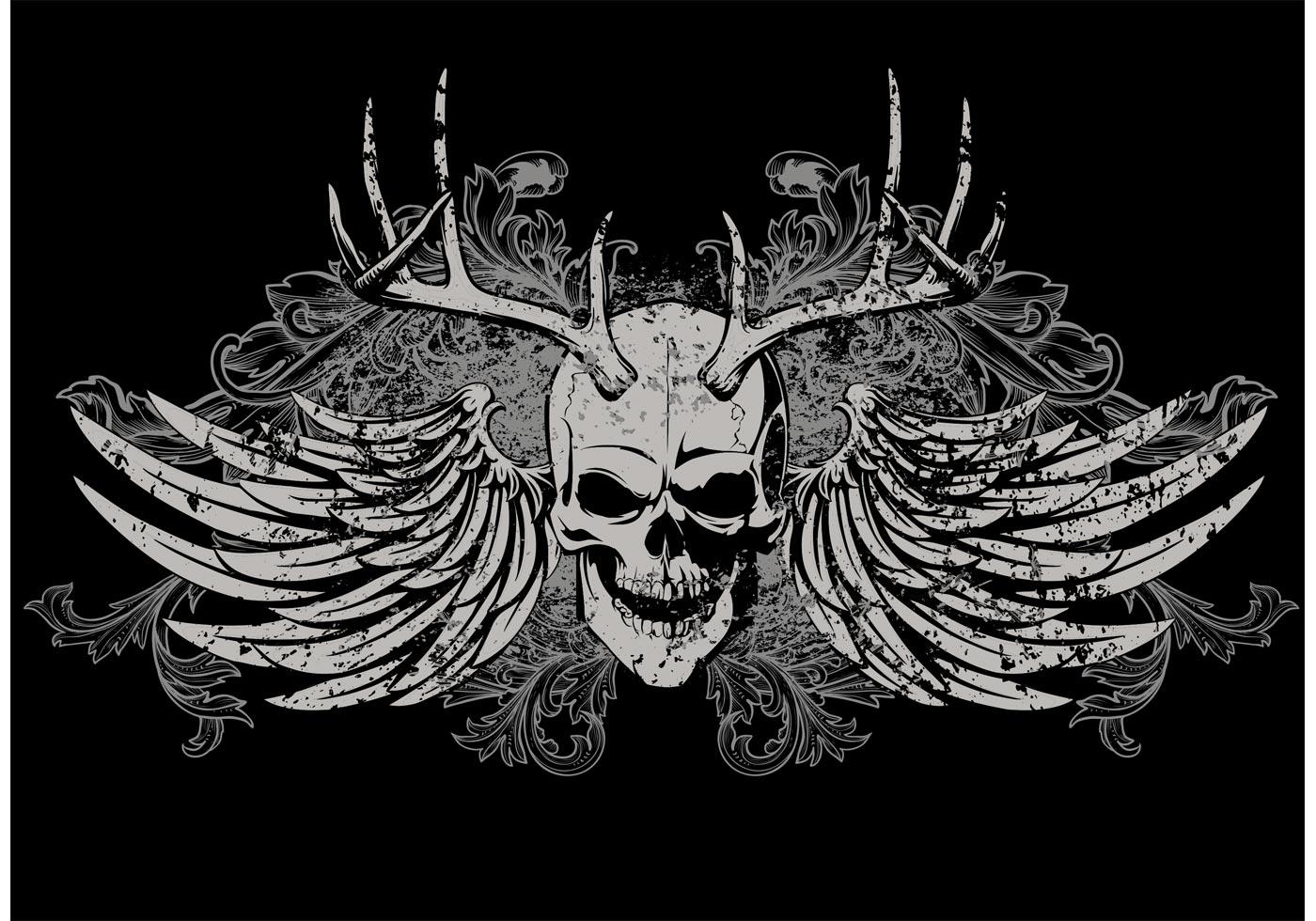Skull T Shirt Vector Design Download Free Vector Art