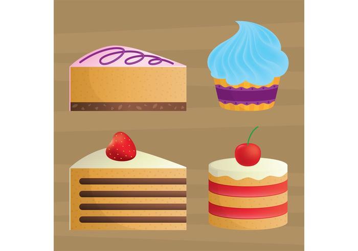Kuchen Vektoren