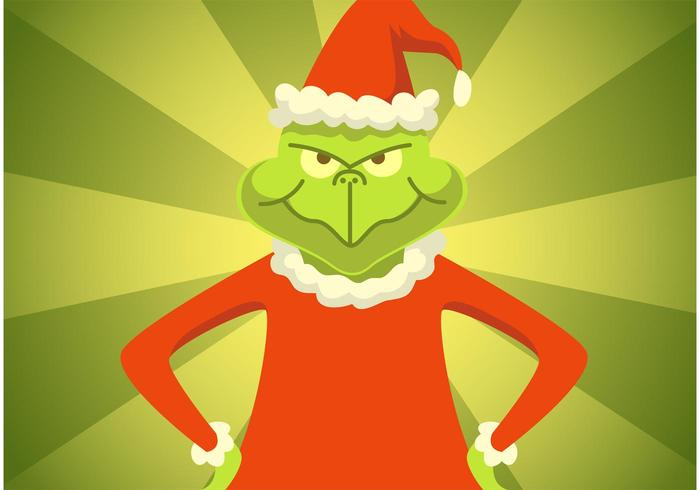 The Grinch Vector