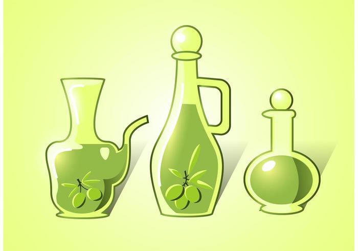 Olive Oli Vektoren