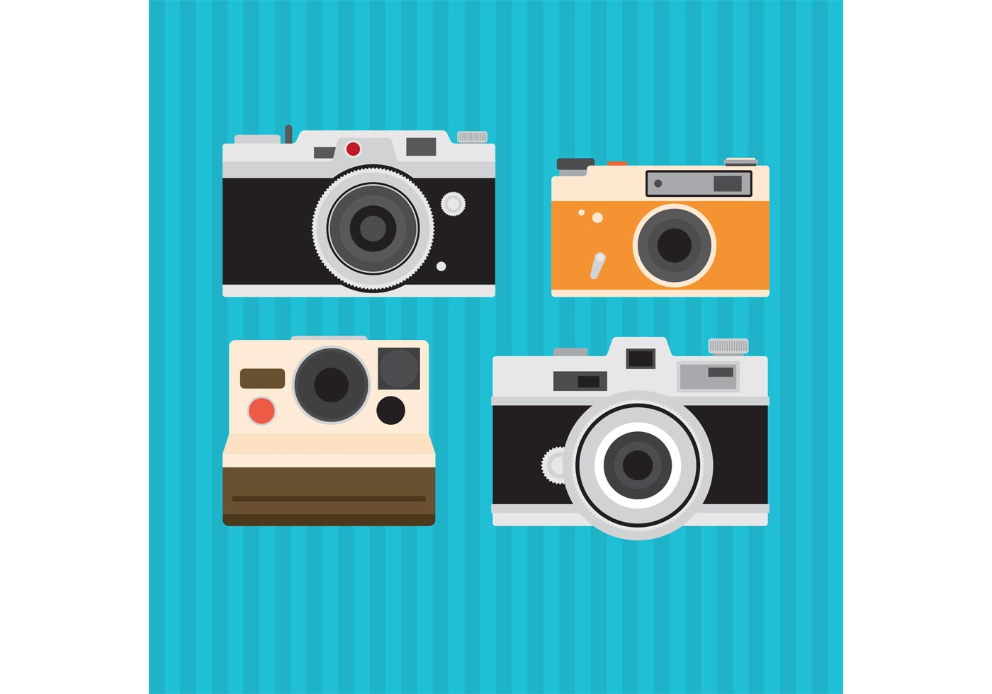 Old Vintage Camera Vectors - Download Free Vector Art ...