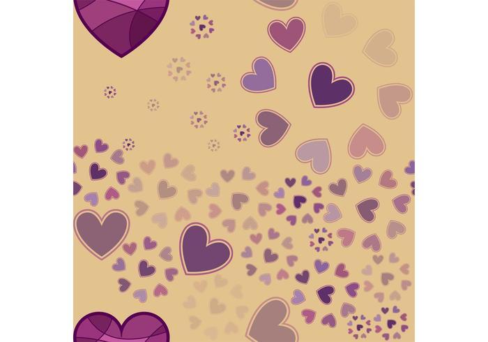 Herz Hintergrund Vektor