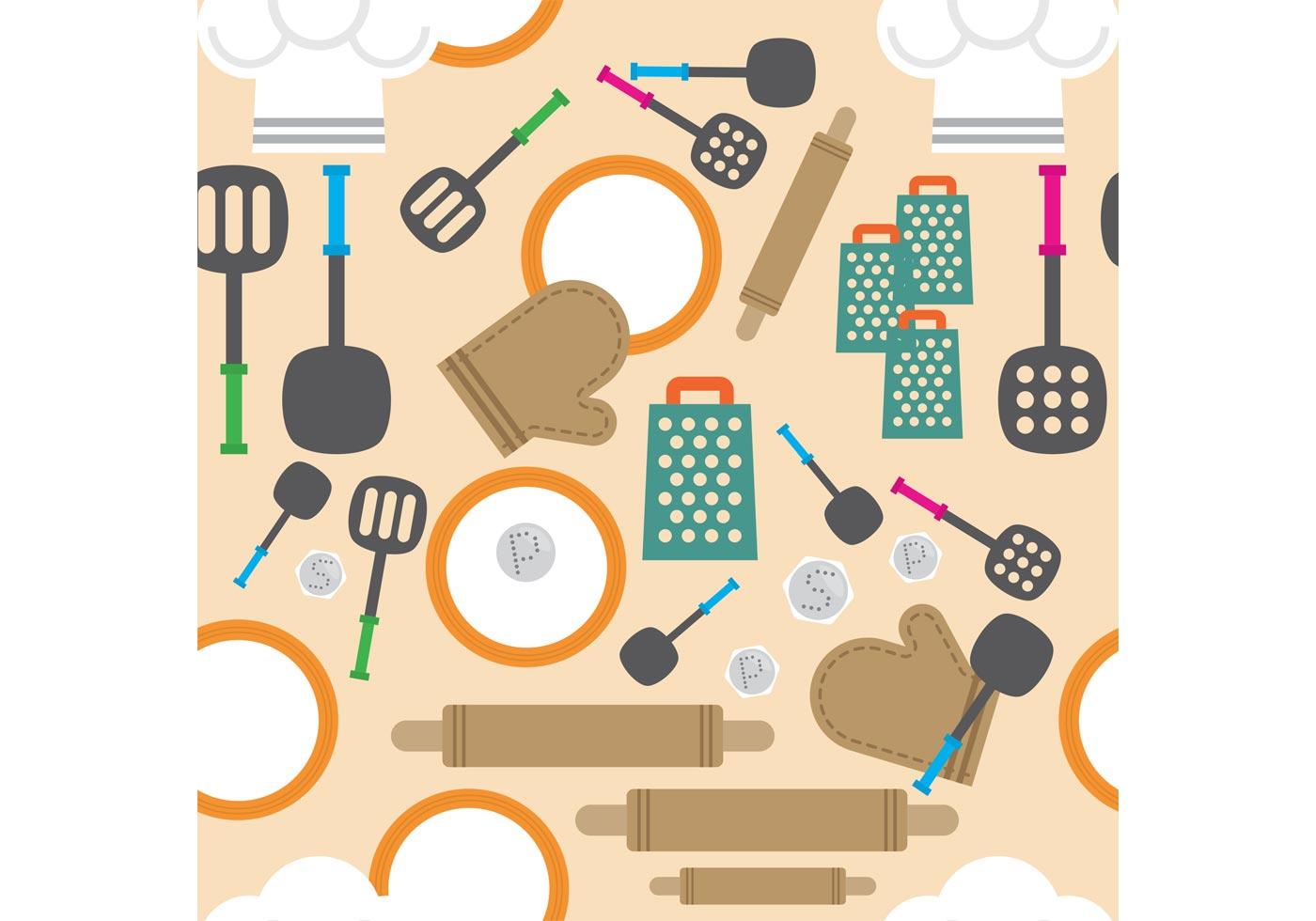 kitchen vector background 82549  download free vectors