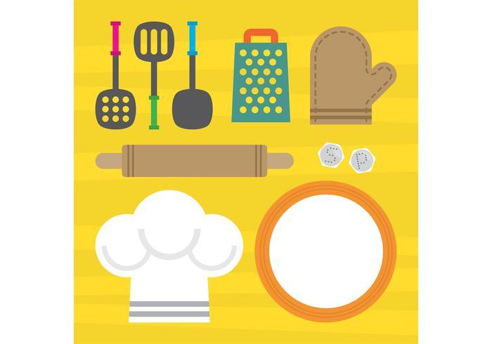 Elementos de vector de cocina descargue gr ficos y for Elementos de cocina para chef