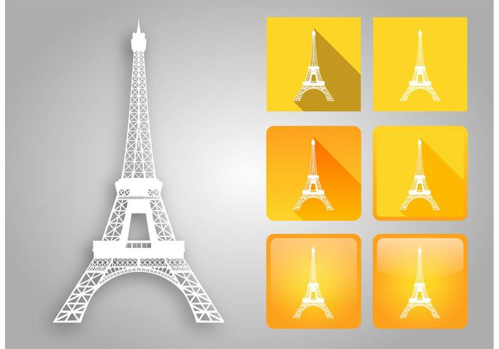Eiffel Tower Vector Pack