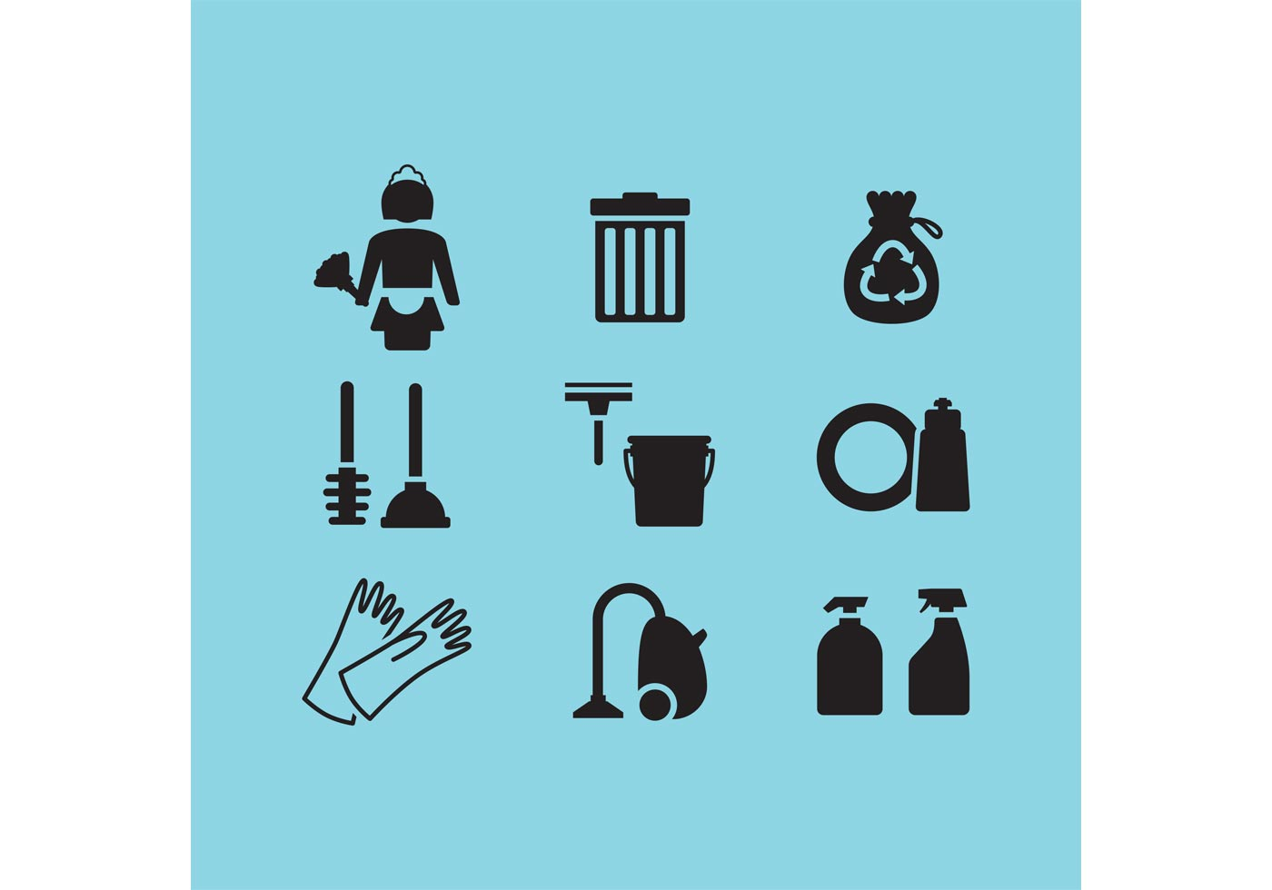 Cleaning Vector Icons Download Free Vectors Clipart