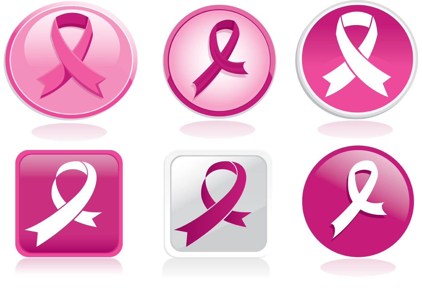Breast cancer rbbon vector pack download free vector art stock breast cancer rbbon vector pack download free vector art stock graphics images buycottarizona Image collections