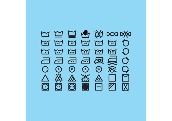 Laundry Symbols Download Free Vector Art Stock Graphics Images