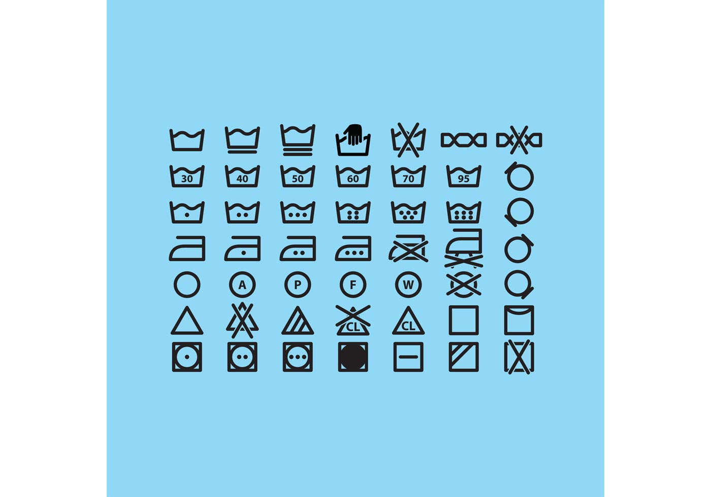 Laundry Vector Icons - Download Free Vector Art, Stock ...
