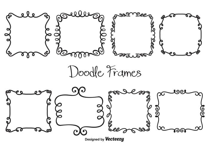 Vector Doodle Frames - Download Free Vector Art, Stock ...