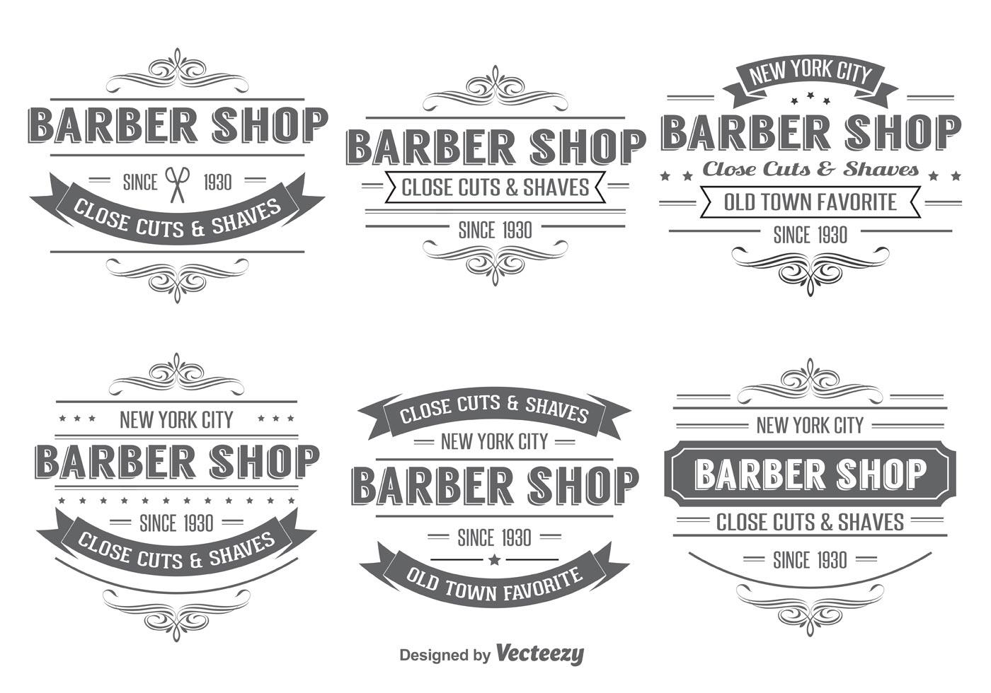 Barber Shop Free Vector Art 2092 Free Downloads