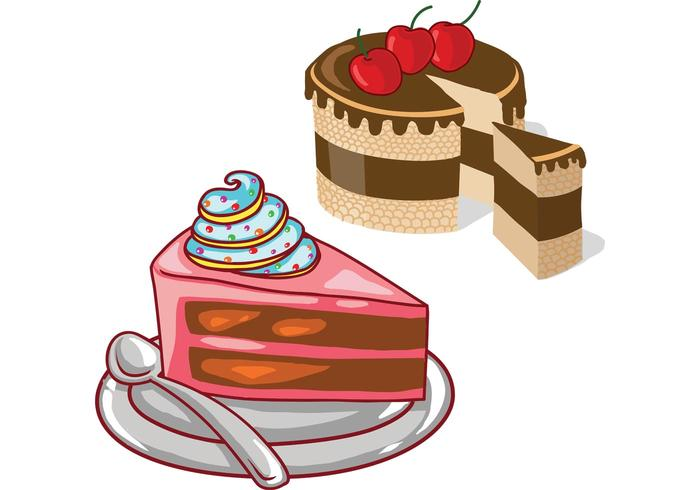 Cake Pictures Vector : Cake Vectors - Download Free Vector Art, Stock Graphics ...