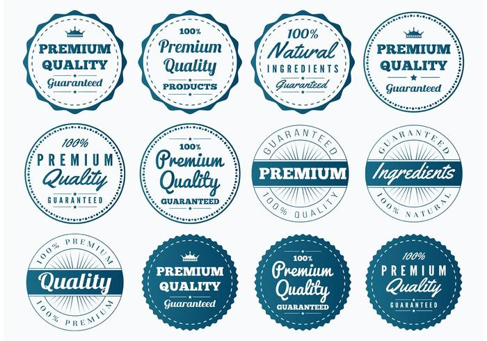 Quality Vector Badges