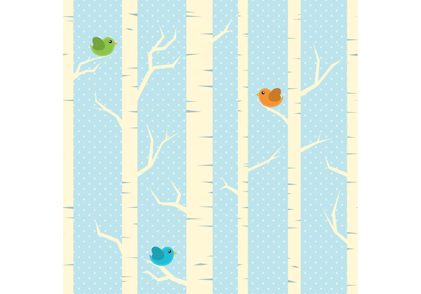 winter trees vector background download free vector art
