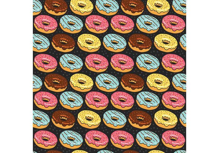 Libre donuts patrón sin fisuras