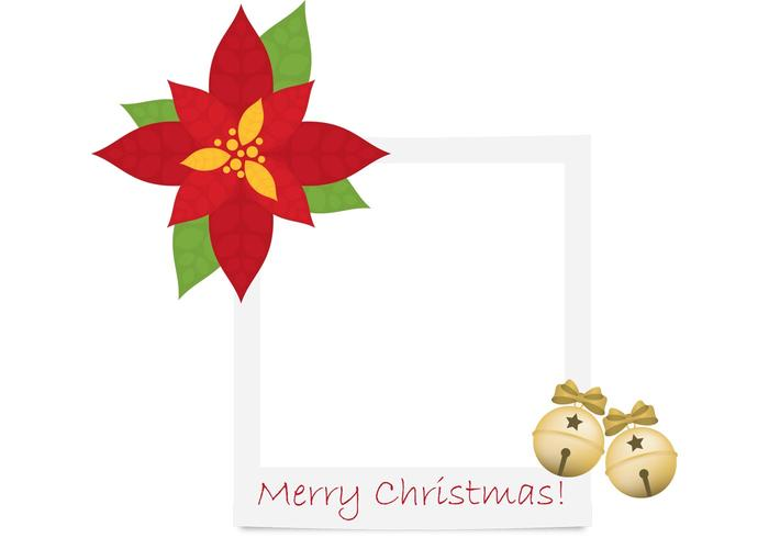 Jingle Bells Vector Polaroid