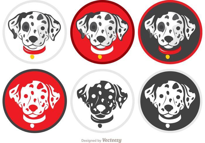 Dalmatian Puppy Vectors