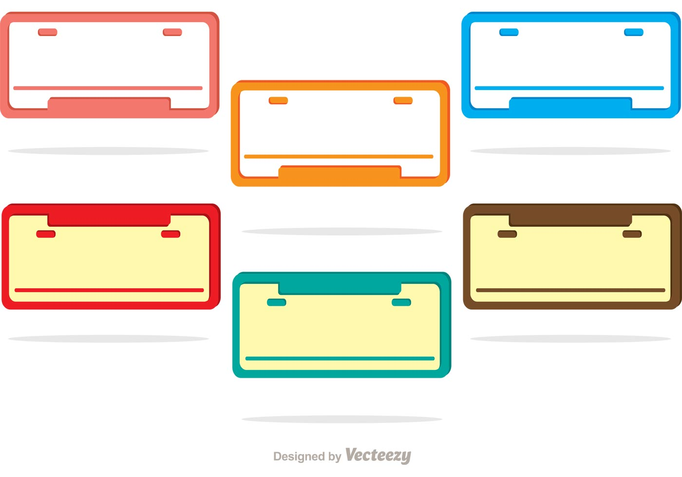 Aluminum License Plate Frame >> License Plate Vectors - Download Free Vector Art, Stock Graphics & Images