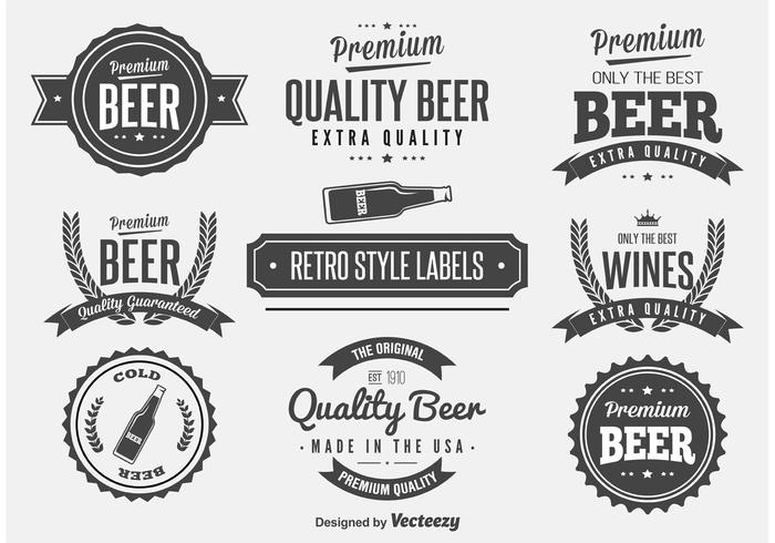 Beer Label Free Vector Art   Free Downloads