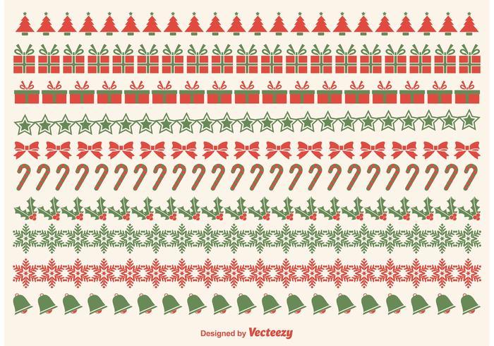 Christmas Border Vectors