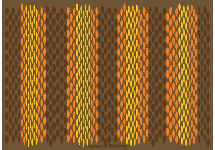 Schlange Haut Muster Vektor