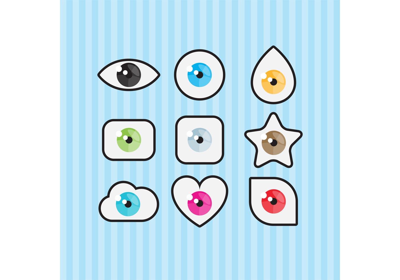 Eye Symbol Vectors Download Free Vector Art Stock