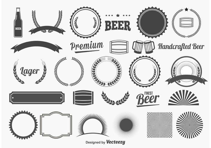 Beer Design Elements