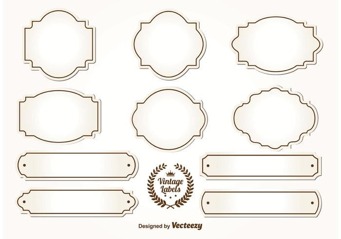 Old fashioned jar labels 42