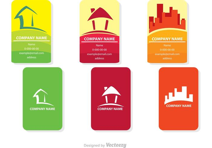 Real Estate Card Vector Designs