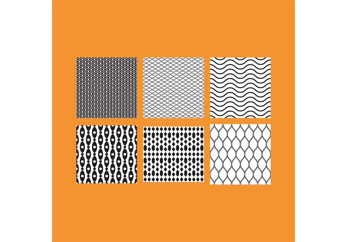 Simple B Amp W Patterns 5 Download Free Vector Art Stock