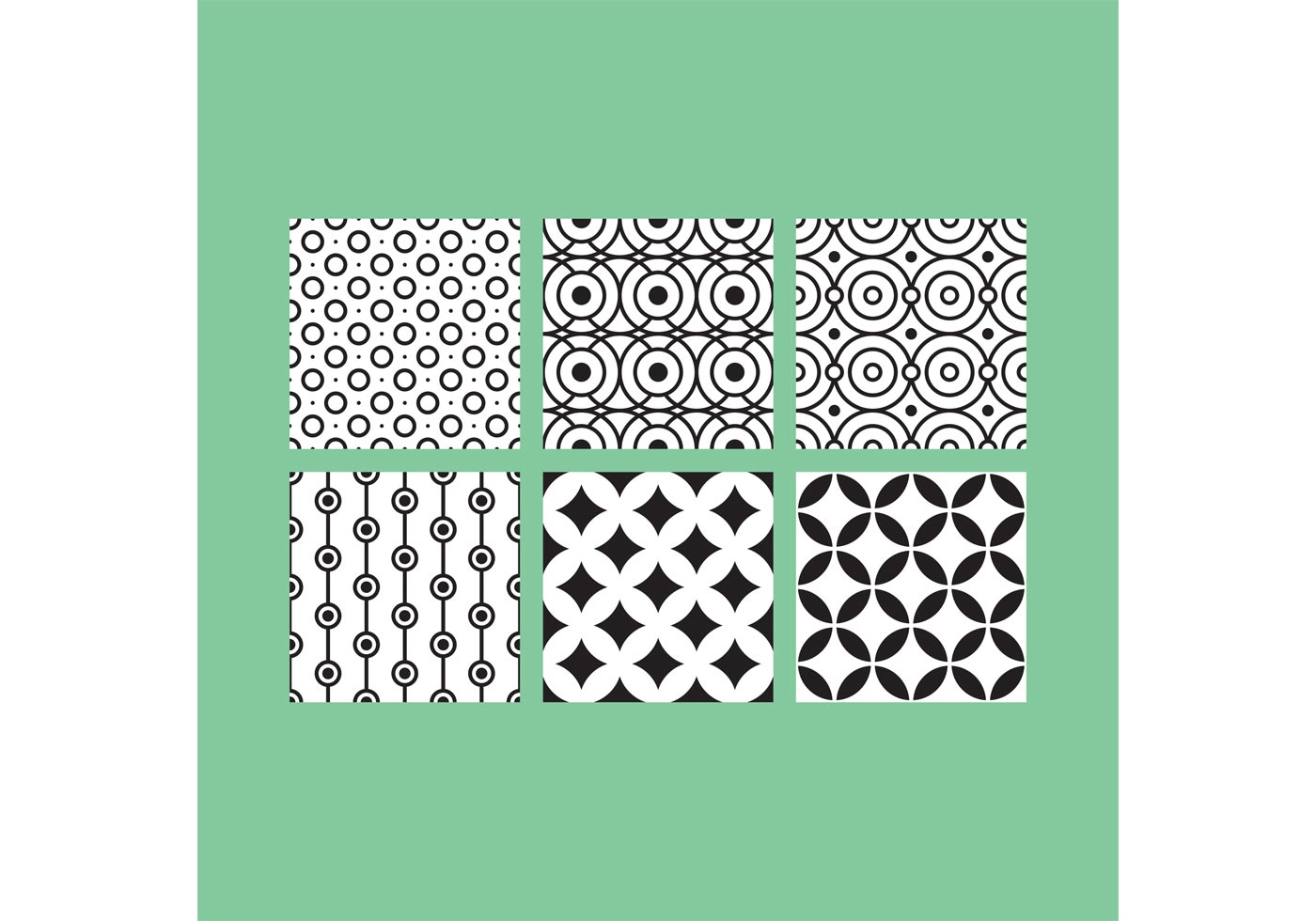 Simple B Amp W Patterns 4 Download Free Vector Art Stock