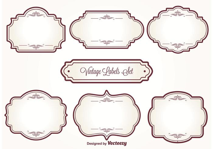 vintage label free vector art 17788 free downloads