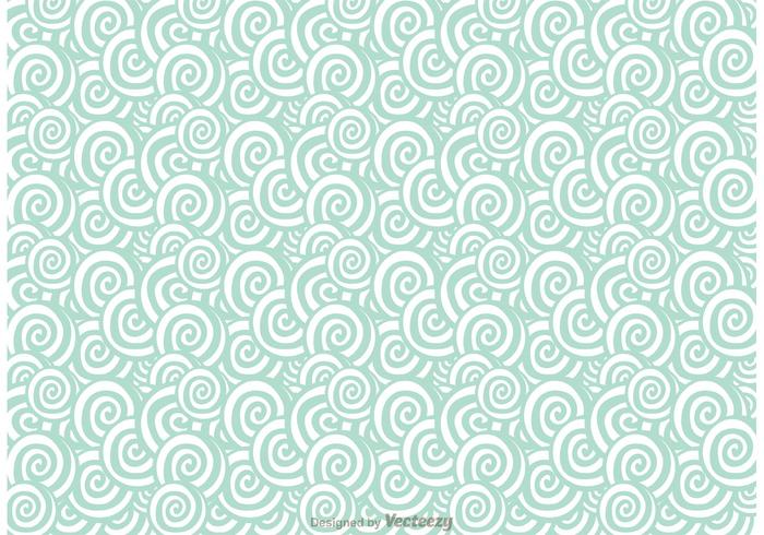 Abstract Swirly Pattern Vector