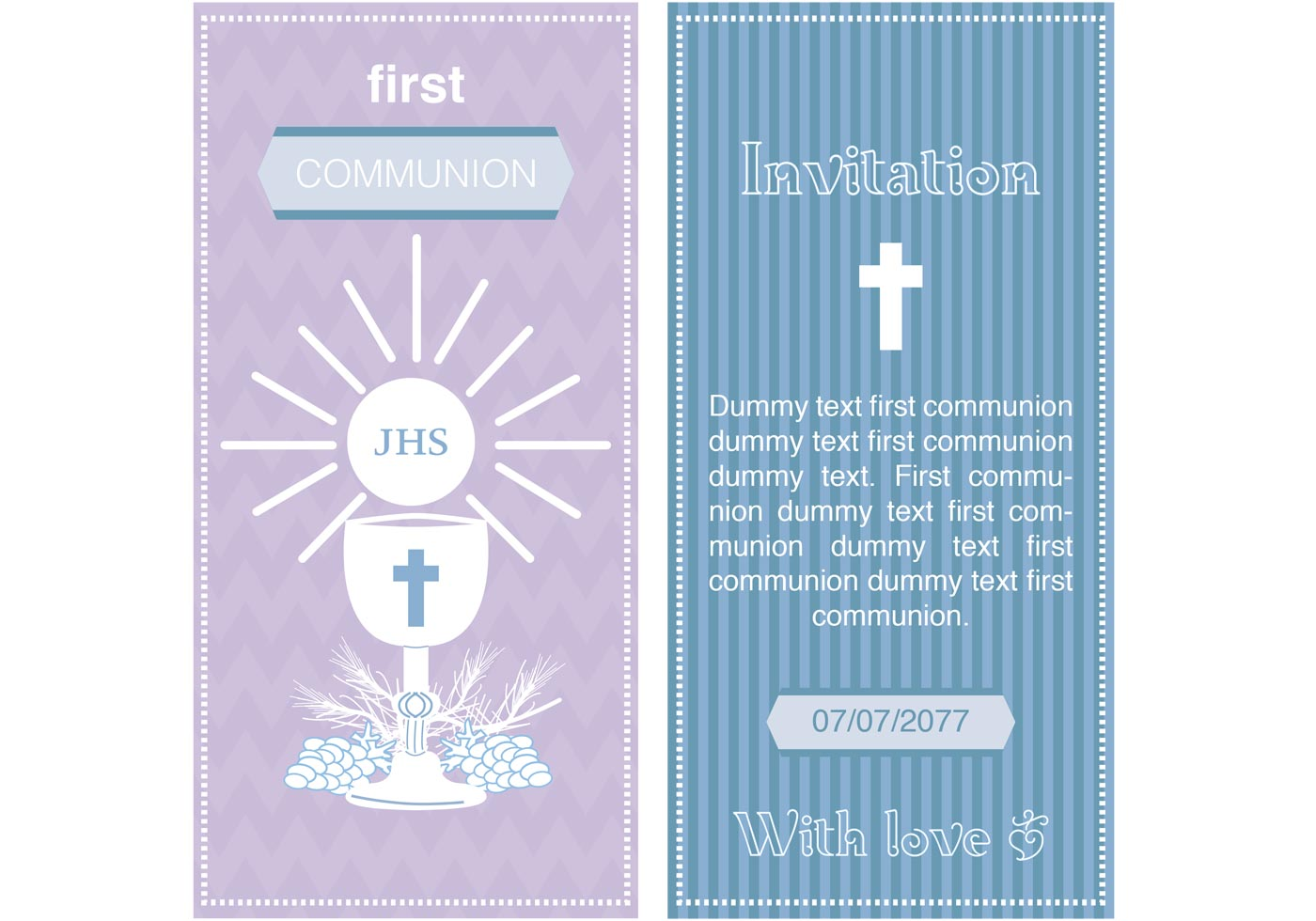 First communion invitation vectors download free vector art first communion invitation vectors download free vector art stock graphics images stopboris Images