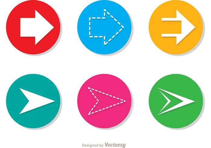Arrow Vector Icons Set